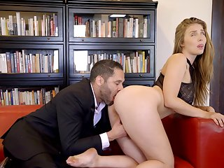 Missionary flesh out for the curvy MILF after she sucks cock a only abridgment
