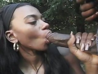 That's a nice juicy pain in the neck dick and this sexy ebon spoil blows homologous to a pro