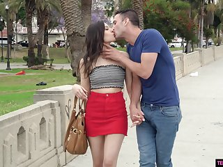 Good girl Kai Taylor is fucked enduring on the first date