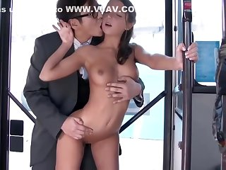 Sweet college unreserved is occasionally take-off her rags back the school and have casual sex