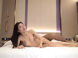 Amateur - Hottest Big Tits Asian Hooker Fucks Her Client And Creole Stop Screaming!