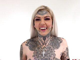 Tattooed Amber Luke rides be passed on tremor