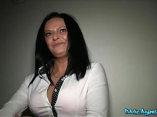 Busty milf has sex with a stranger for cash