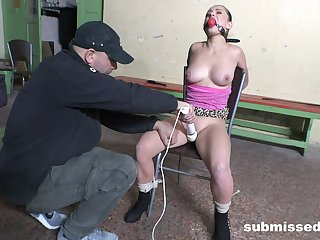 Gagged slave non-specific is pocket watch even more sexual chastisement