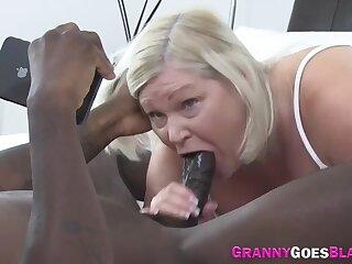 Lardy Gran Blowing Chubby Black One-Eyed Snake