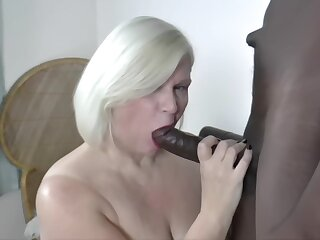 One Night Observe Granny Swallows Nut With Lacey Starr