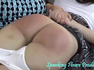 spanking action