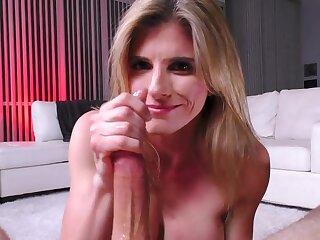 Busty MILF Cory Chase Handjob Porn Blear
