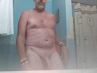 Danrun erupts his cum on sunday morning