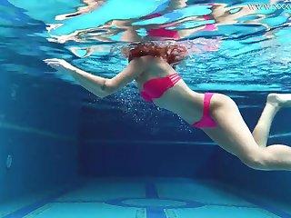 Uber-Cute gal, Tiffany Tatum went swimming respecting Masturbate and milked next to the swimming pool