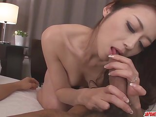 Maki Hojo leaves man to fuc - More at Japanesemamas.com