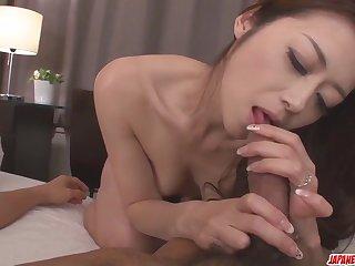 Maki Hojo leaves man to fuc - More at Japanesemamas.com
