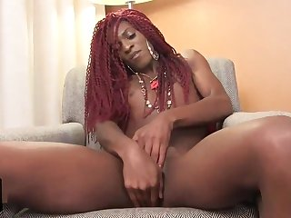Shemale beside throbbing dreads seductive say no to load of shit
