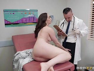 Token a blowjob Chanel Preston got her tight pussy fucked by her doctor