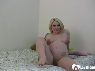 The reason I love my dildo is because it arouses me and helps me cum