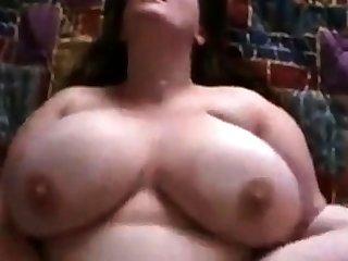 Massive tits bbw pov be hung up on sexy bungling