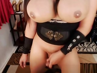 tasty biggest melons tranny Enjoys Playing Will not hear of ramrod