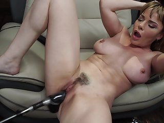 Long and heavy sex toy seat please the sexual desires be advisable for Dana DeArmond