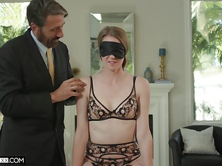 Ashley Byway is home alone so she decides to fuck with their way darling all day
