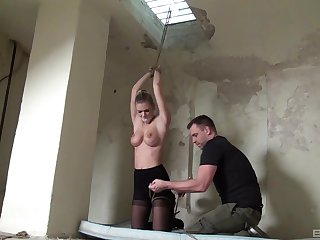Supreme bondage for obedient Megan