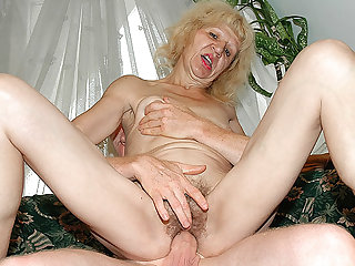 ugly 83 adulthood old mom heavy cock fucked