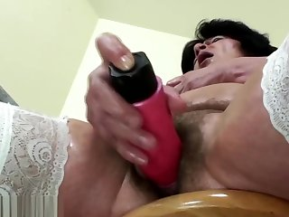 Granny fisted hard by young loved girl