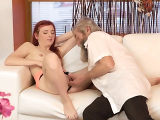 Teen old doctor Unexpected dedication with an older