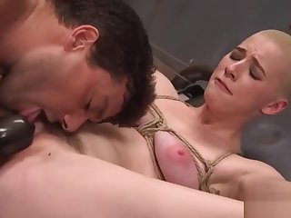 Dirty Whore Spanked Headed and Fucked