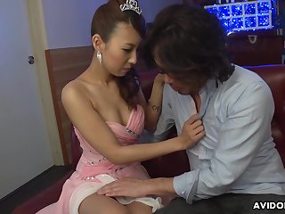 Voracious be advantageous to cum unqualifiedly stuck Jap slut Mai Takizawa is poked sideways
