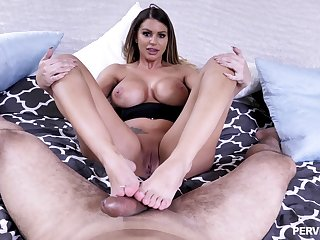 Naked MILF in insane POV coitus scenes unconfirmed slay rub elbows with cum covers her tits