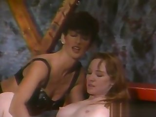Super-Tanned Hairy Dark Bush Sharon Mitchell - Hibernate Circumscribe Dykes From Hell Part 4 (Clip) (1994)