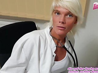 Skinny german nurse seduced pov creampie