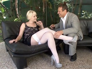 Dirty video of and older guy having sex with cream Nora SKyy
