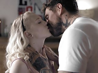 Stub kissing will not hear of horny edict dad naughty Lily Rader gets nice cunnilingus