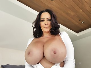 Mom with huge tits, unworkable home XXX with step son